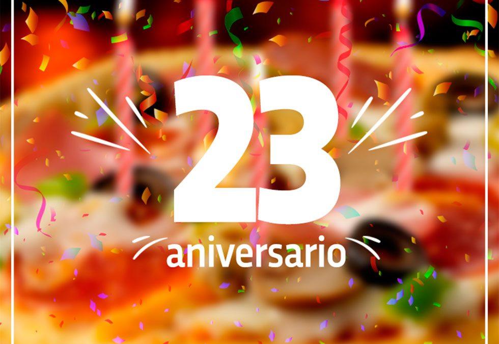 Con Mucho Amor, Celebramos Nuestro 23 Aniversario