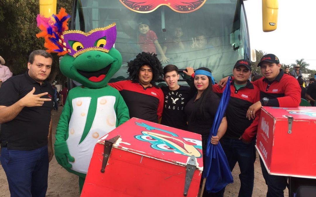 Se une Návola Restaurant a los carnavales del municipio