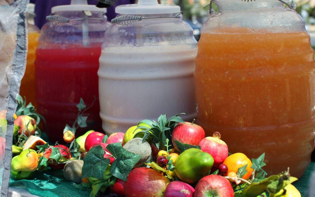 Aguas frescas, una delicia para acompañar tus alimentos