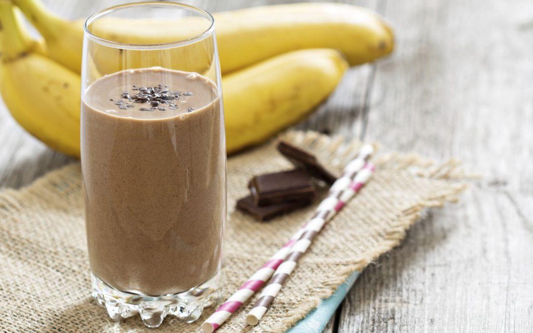 Licuado de chocolate, la receta para tener buen humor