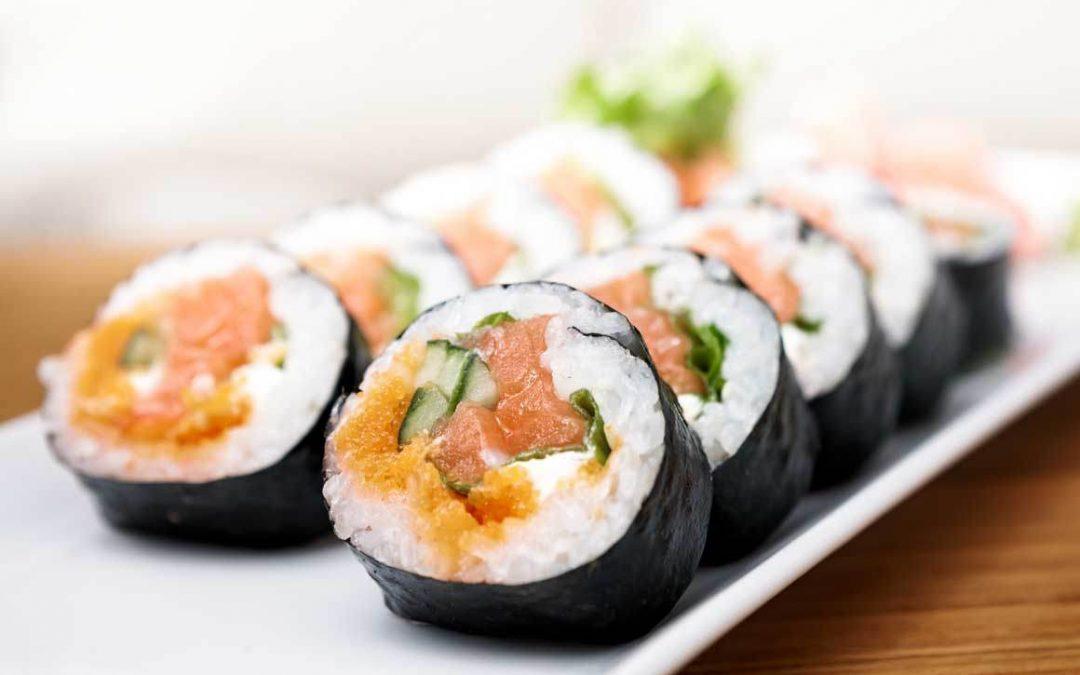 ¿Cómo fabrican las algas nori para sushi?