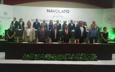 Festeja Navolato el 34 aniversario de su municipalización